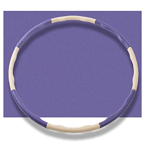 Buy Bargain WMLWML Hula Hoop, 8 Section Splicing Detachable Adjustable, Weighted Hula Hoops, for You...