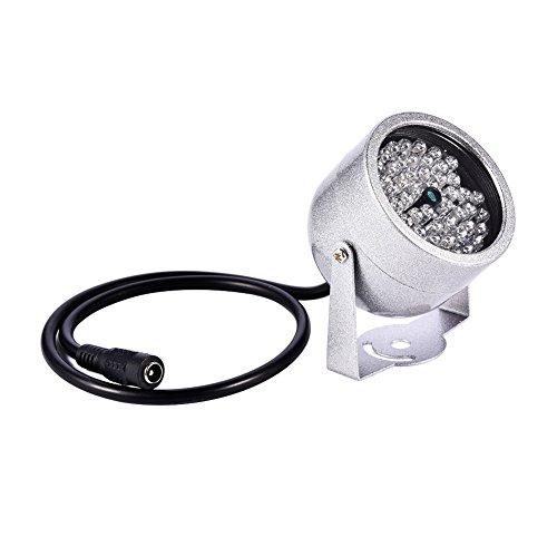 VBESTLIFE Kamera IR Illuminator Lights, 140 LED wasserdichtes Infrarot Nachtsichtlicht für Sicherheits CCTV Kamera