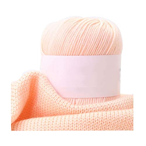 Hilo de hilo grueso Hilado de crochet 50G Hilo de algodón para tejer 5 8 10 o 20 rollos Color Color...