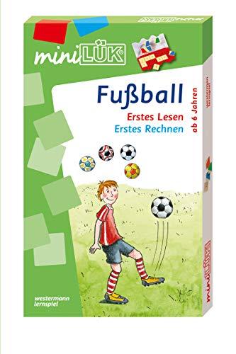 miniLÜK-Sets: miniLÜK-Set: Vorschule/1. Klasse - Mathematik, Deutsch: Fußball: Fußball: Erstes Lesen / Erstes Rechnen (miniLÜK-Sets: Kasten + Übungsheft/e)