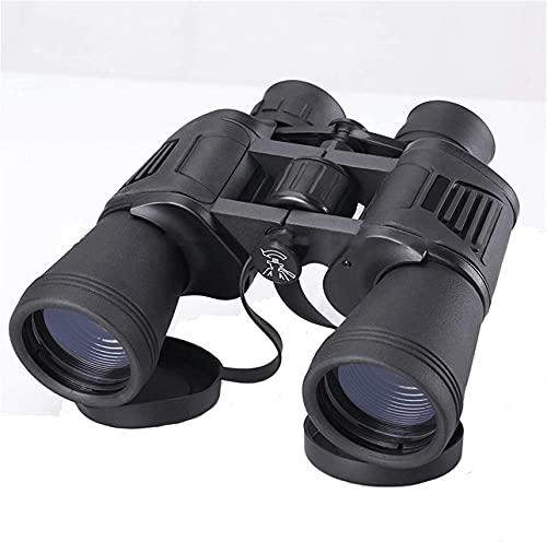Telescopio para Adultos, prismáticos 10x42 para Adultos niños, prismáticos Resistentes al Agua de la Vida compactos con la Noche en Condiciones de Poca luz BAK87 Prisma FMC óptica binoculares telesc