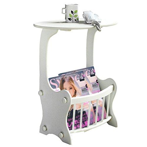 AJZXHE Canapé table d'appoint, table basse en bois, mini table de salon minimaliste, Bureau simple (Couleur : A)