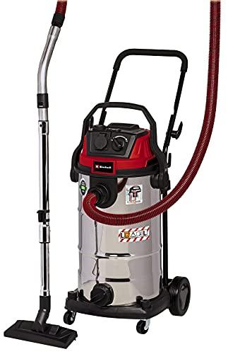Einhell Aspirador en seco y húmedo TE-VC 2240 SACL (1500 W, 225 mbar, filtro de pliegues HEPA incl. sistema de limpieza...