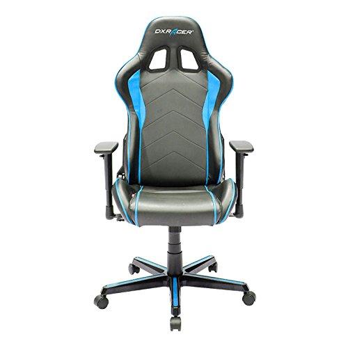 DXRacer Gaming Stuhl, OH/FH08/NB, F-Serie, schwarz-blau