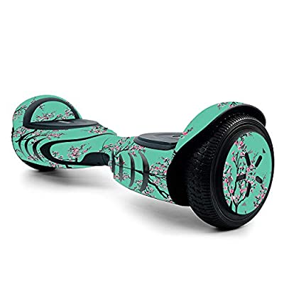 MightySkins Skin for Tomoloo Hoverboard Self Balancing Scooter - Cherry Blossom Tree | Protective, Unique Vinyl Decal wrap Cover | Easy to Apply, Remove, and Change Styles | Made in The USA