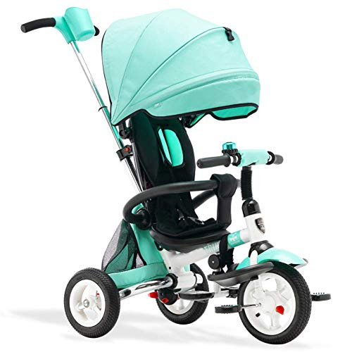 Check Out This Zjnhl Children's Fun/Children Tricycle First Bike Stroller 3 In1 Foldable WiRemovable...