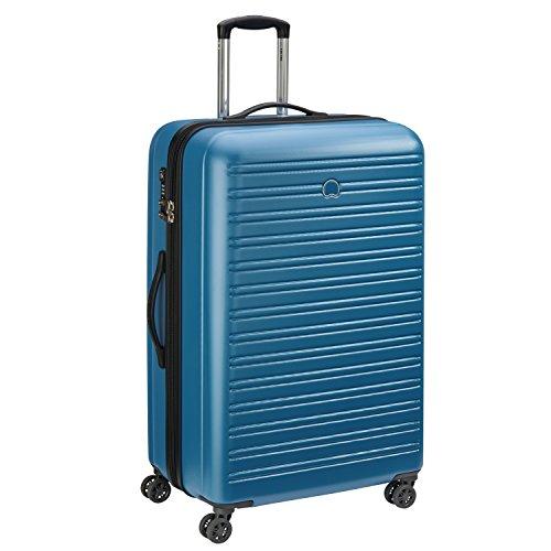 DELSEY PARIS SEGUR Valigia, 81 cm, 110 liters, Blu (Bleu Canard)