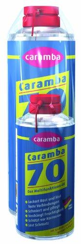 Caramba 70 das Multifunktions-Öl 250 ml, mit neuem Duft, Tellersprühkopf + Extradose 100 ml GRATIS