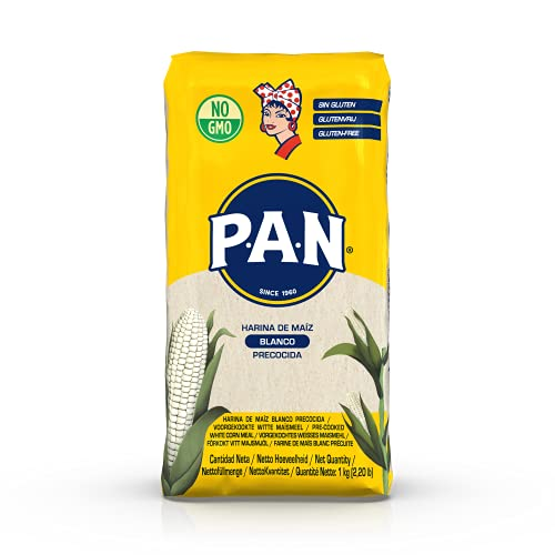 P.A.N. Harina de Maiz Precocida Blanca 10 x 1kg