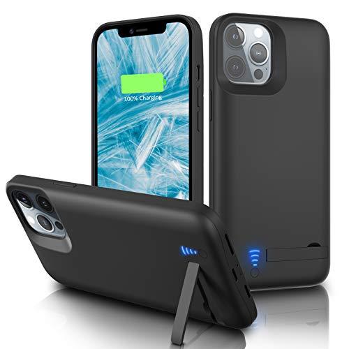 Gladgogo Funda Batería para iPhone 11 Pro [6000 mAh] Funda Cargador Carcasa Batería
