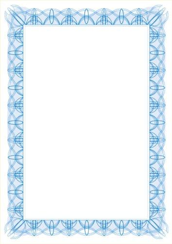 Computer Craft 755595 Certificaat Papieren met Foil Seals 90gsm A4 Reflex Blauw Ref CCC2000 [Pack van 30]