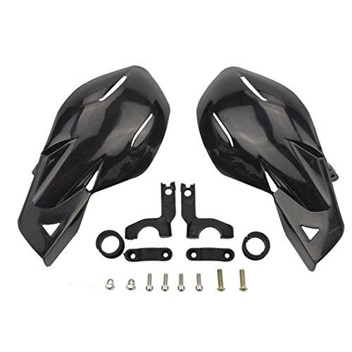 "GOOFIT 22mm(7/8\"") Handprotektoren Handschalen Handguards Montage Kit für Motocross Motorrad Off-road Pitbike Dirtbike ATV Schwarz"