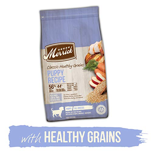 Merrick Dry Puppy Food with Healthy Grains;...