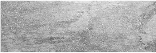 matches21 Teppichläufer Küchenläufer Teppich Läufer Beton Betonoptik grau Steinoptik Velours & Latex waschbar 60x180 cm