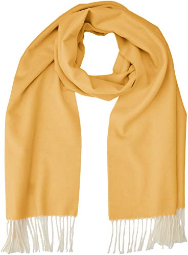GANT Damen D2. TWO FACED TWILL SCARF Schal, Gold (Honey Gold 759), (Herstellergröße: One Size)