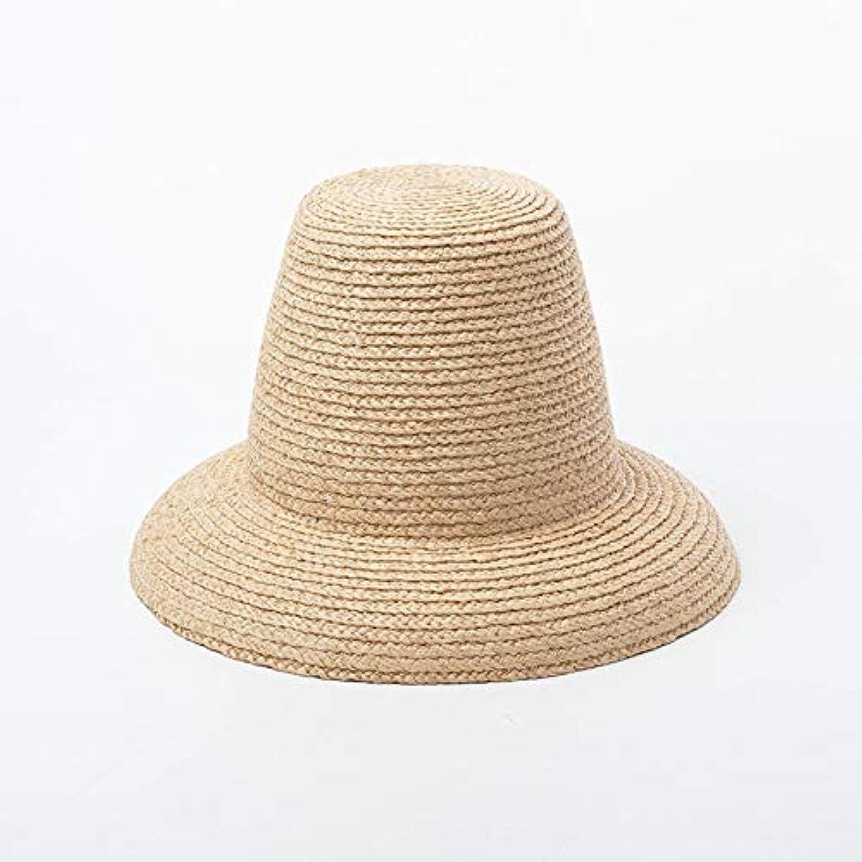 贅沢な悪党抗議レトロハイトップラフィット帽子ファッションステージキャットウォーク写真凹型ラフィット帽子