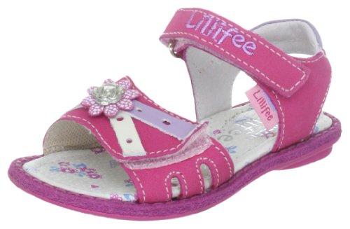 Prinzessin Lillifee Sabrina 410246, Mädchen Sandalen, Pink (Fuchsia/Flieder/weiß 43), EU 26
