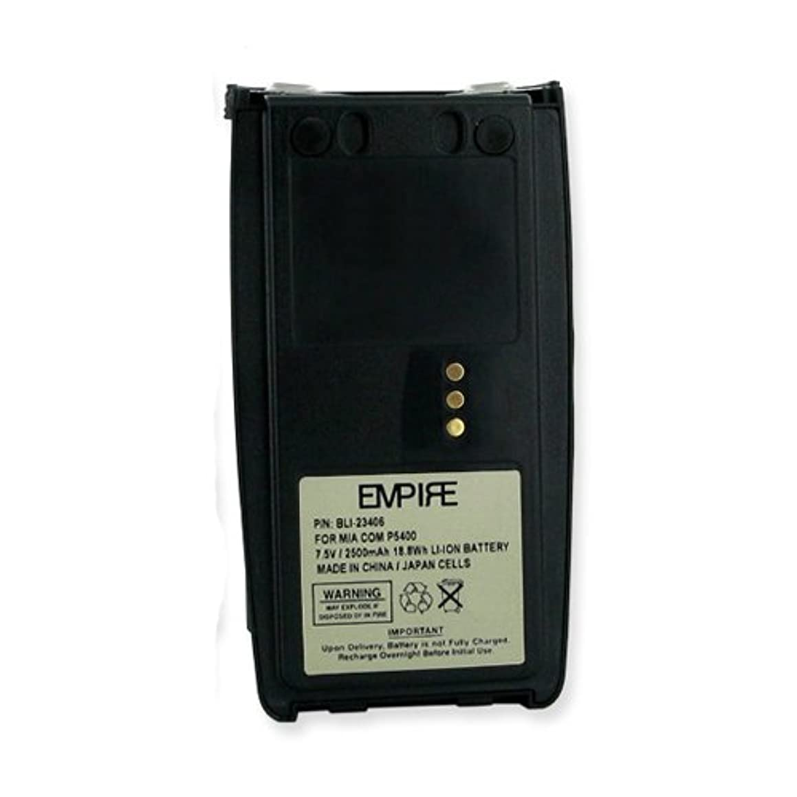 Harris XG-25P 2-Way Radio Battery (Li-Ion 2500mAh) Rechargeable Battery - Replacement for Harris BT-023406-005