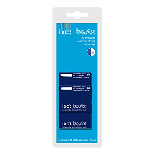 Inoxcrom - Recarga Cartucho de tinta azul 24+6