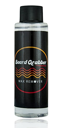 Surfing Wax Liquid Citrus Smell Remover Cleaner for Your Surf Board; Restore Your Board's Original Shine by Board Grabber