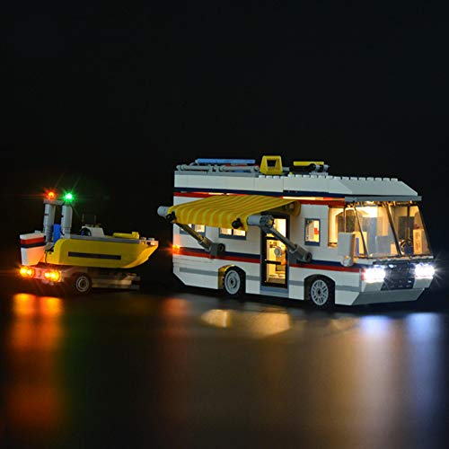 LED Beleuchtungsset für Lego 31052 Creator Urlaubsreisen, Beleuchtung Licht Kompatibel mit Lego 31052 (Lego-Modell Nicht Enthalten)