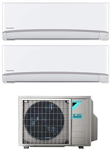 Climatizzatore Dual Split 12000 + 12000 Btu, Inverter, Classe A++/A++ Serie Emura Bluevolution FTXJ-MW