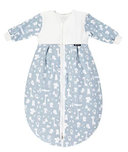 Alvi Schlafsack Mäxchen Thermo mit Arm | Babyschlafsack | Alvi Außensack mit Arm | Winterschlafsack 3,0 TOG