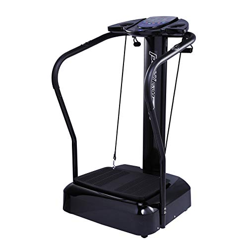 Pinty Whole Body Vibration Platform | Vibration Machine for Home Fitness with Built in Speakers