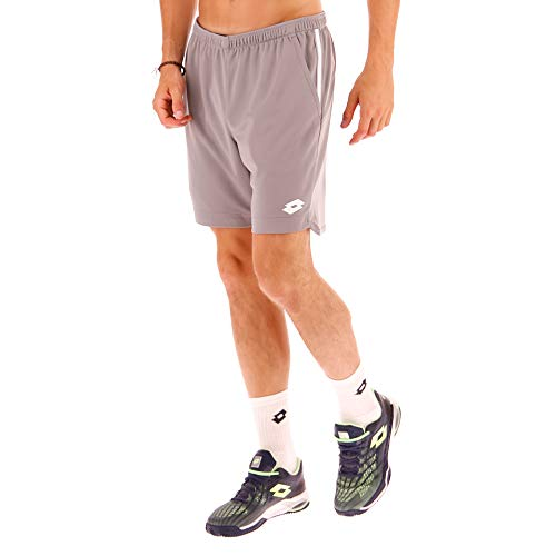 Lotto - Tennis-Shorts für Herren in alloy gray