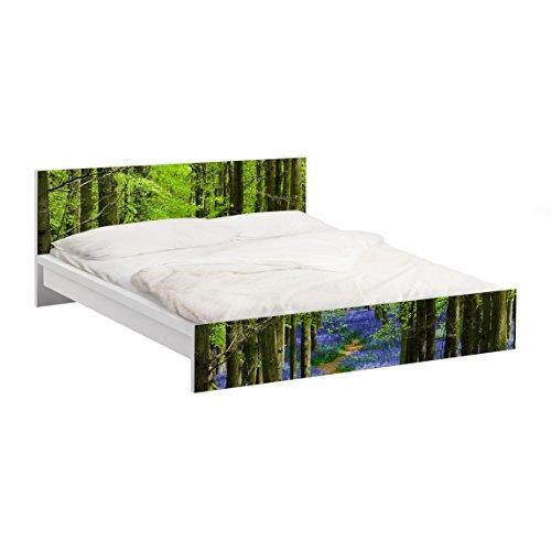 Apalis Möbelfolie für IKEA Malm Bett 180x200cm Wanderweg in Hertfordshire 77x197cm