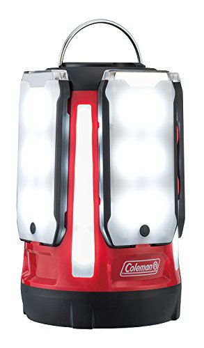 コールマン(Coleman) ランタン クアッドマルチパネルランタン LED 乾電池式 約800ルーメン レッド 2000031270