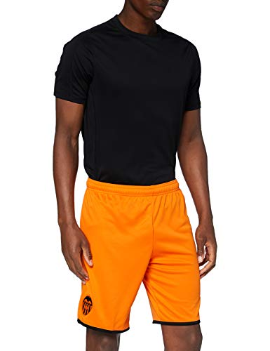 Puma Valencia CF Temporada 2020/21-Shorts Replica Pantalón Corto, Unisex, Naranja (Vibrant Orange Black), S