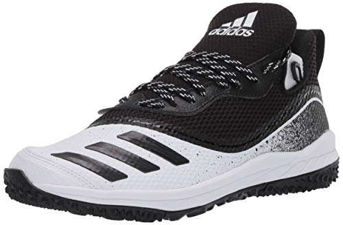 adidas Men's Icon V Turf Baseball Shoe, core Black/core Black/FTWR White, 8 M US