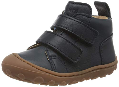 Bisgaard Unisex Kinder Gerle Klett Sneaker, Blau (Blue 20), 19 EU