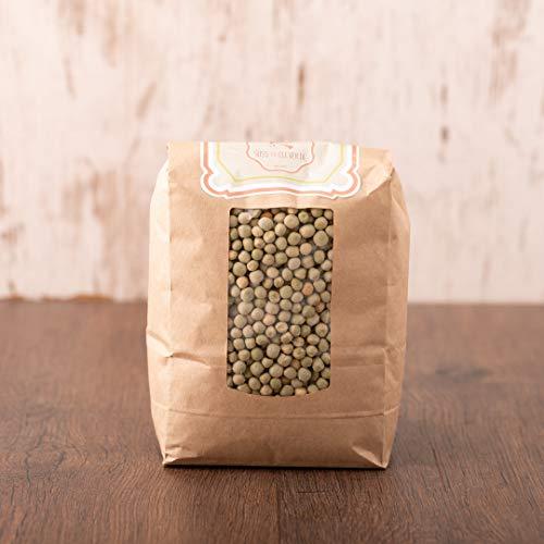 süssundclever.de® Bio Erbsen | grün | Gourmet | 2 x 1 kg | unbehandelt | plastikfrei und ökologisch-nachhaltig abgepackt