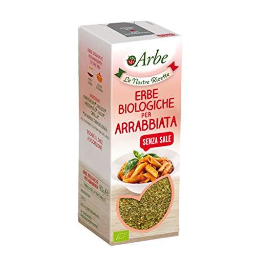 Arbe - Erbe biologiche per arrabbiata senza sale vegan