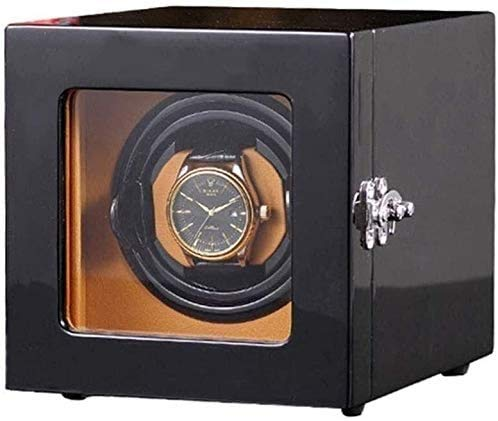 YUYANDE Reloj Binder, para relojes automáticos, motor extremadamente silencioso, caja de almacenamiento de rotación automática, almohadas de relojes tridimensionales, adecuados para damas y muñequeras
