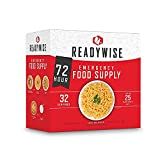 ReadyWise Emergency Freeze-Dried Food Supply, Ready Grab-and-Go Bags, Survival Food, Disaster Preparedness, Camping Meals, Variety Pack of Meals for 72 Hours, 34 Servings