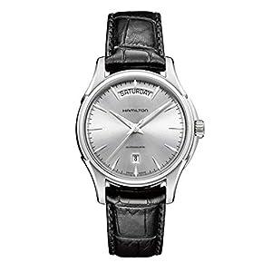 Hamilton–Reloj de Pulsera analógico para Hombre (tamaño XL Automático Piel H32505751