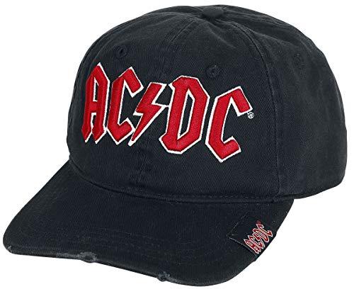 Générique AC/DC Logo Casquette Noir