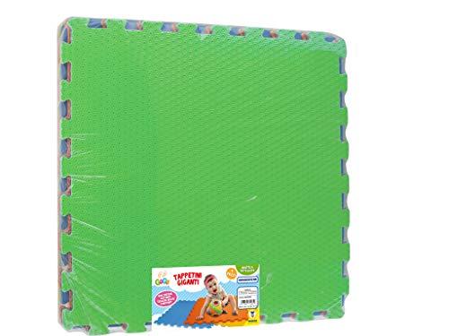 Teorema 72465 - Tappeto Puzzle Giganti, 60 x 60 cm, Colori Assortiti