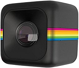 $99 Get Polaroid Cube+ 1440p Mini Lifestyle Action Camera with Wi-Fi & Image Stabilization (Black)
