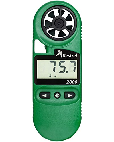 Kestrel 2000 Pocket Wind And Temperature Meter / Digital Thermo Anemometer
