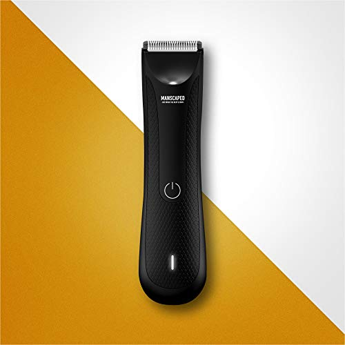 Manscaped Electric Manscaping Groin Hair Trimmer, Lawn Mower 3.0, Replaceable Ceramic Blade Heads, Waterproof Wet/Dry Clippers, Standing Recharge Dock, Ultimate Male Hygiene Razor