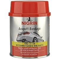 Nigrin 74071 - Esparadrapo para Tubo de Escape (Resistente al Calor, sin Asbestos, 100 cm)
