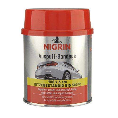 Nigrin 74071 - Benda per Riparare marmitte e Tubi di Scarico, 100 cm, priva di amianto