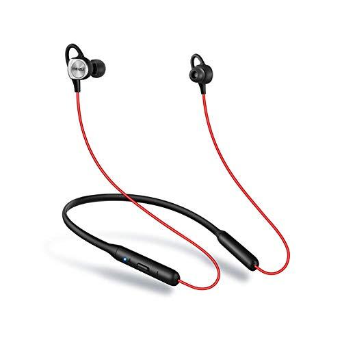MEIZU EP52 - Auriculares, Color Negro y Rojo, Bluetooth, Apt: X, IPX5