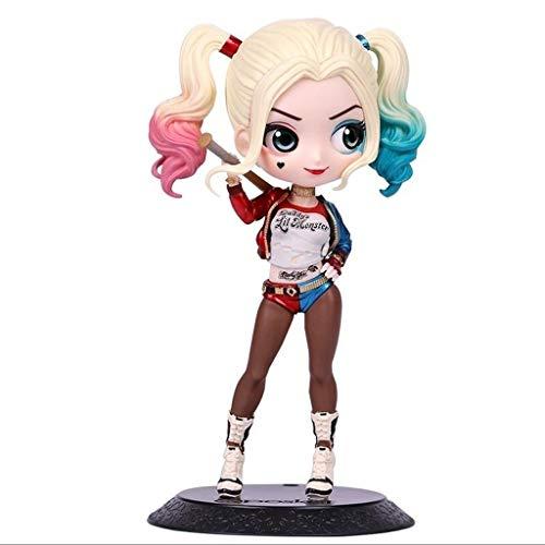Luckly77 Margot Robbie Ver Harley Quinn Figura DC pelotón del suicidio de PVC estatua, figura clásica de la película