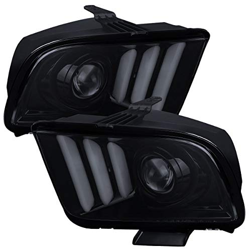08 mustang headlights - 7