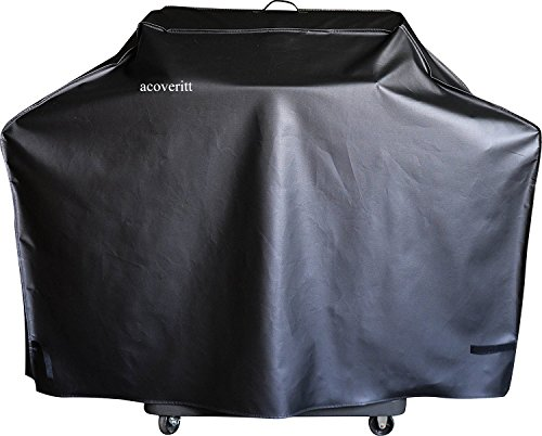 66' Heavy Duty Waterproof Gas Grill Cover fits Weber Char-Broil Coleman Gas Grill-Black